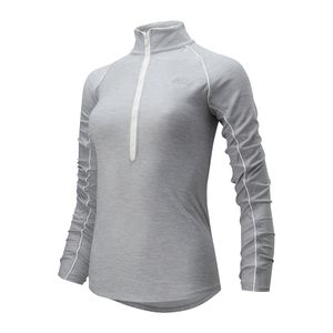 Blusa New Balance Transform Qtr Zip Feminino
